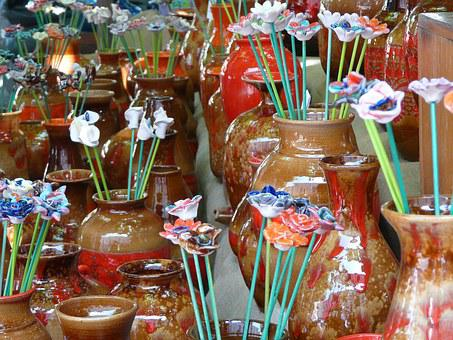 Ceramic, Decoration, Fair, Crafts