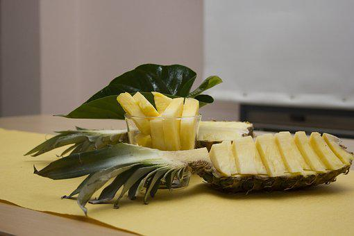 Pineapple, Decoration, Delicious, Yellow, Fruits