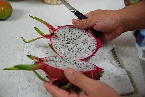 And Helong, The Dragon And, Dragon Fruit, Cutting