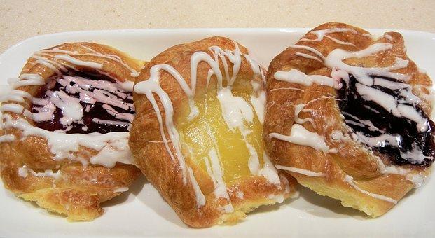 Danish Pastry, Sweet, Danish Specialty, Food