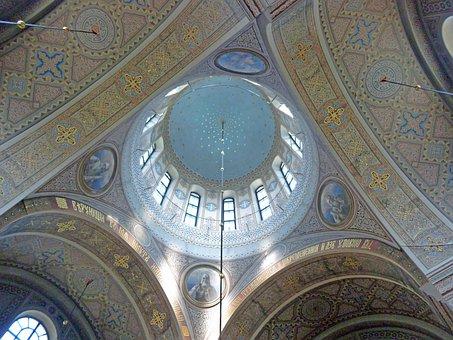 Dome, Uspenski Cathedral, Interior, Helsinki, Church