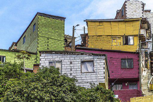 Colombia, Medellin, Architecture, Homes, Houses