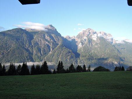 Alpine, Mountains, Summit, Lindsberg, Panorama