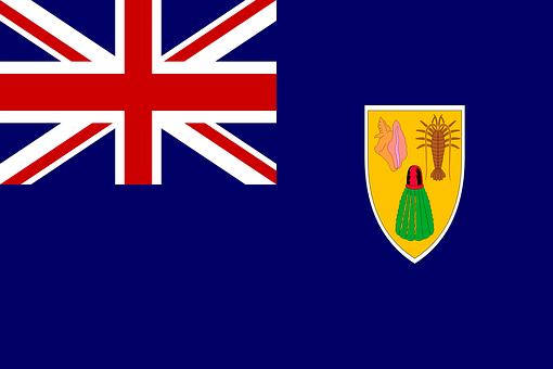 Turks And Caicos Islands, Flag, National Flag, Nation