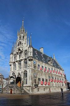 Gouda, Town Hall, Netherlands, Historical Center