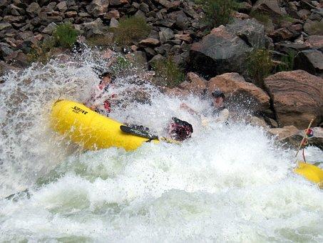 Rafting, Whitewater, Adventure, River Rafting