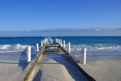 Turks And Caicos Islands, Beach, Sand, Sky, Beach Sand