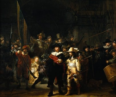Rembrandt Van Rijn, Painter, Artists, The Night Watch