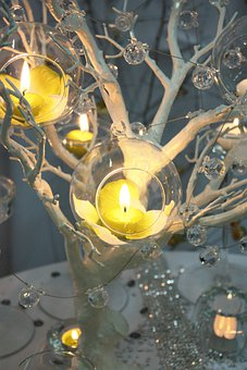 Article 1 2, Glass, Candle, Candles, Decoration