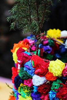 Carnival, Colors, Carol, Mask, Ružičky, Finger Paints