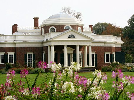 Monticello, Dome, Presidential Home, Museum