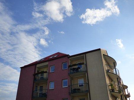 Block, Osiedle, Housing, Building