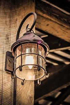 Lamp, Antique, Light, Vintage, Old, Decoration, Style