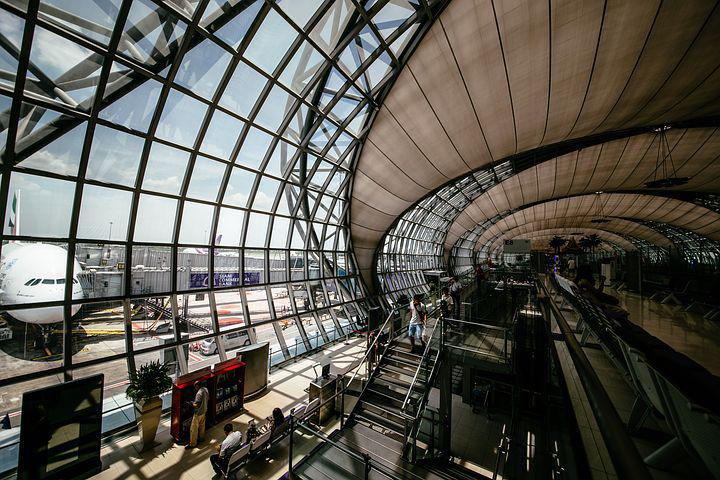 Airport, Architecture, Building, Business, Ceiling