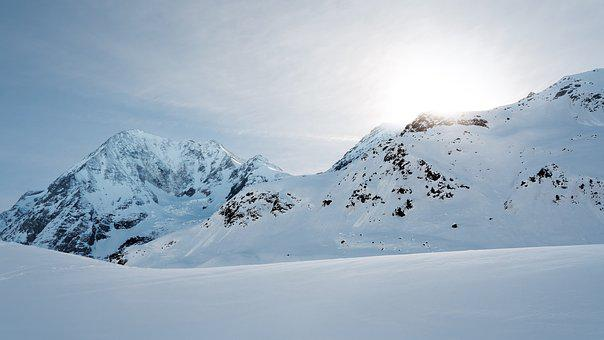 Cold, Mountain Peak, Daylight, High, Landscape