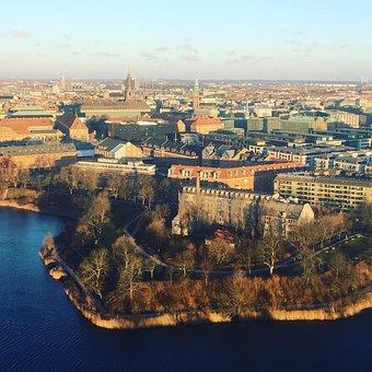 Travel, Denmark, Copenhagen, Winter, Island
