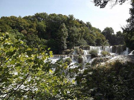 Croatia National Park, Croatia, Dalmatia Waterfalls