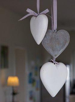 Heart, Deco, Decoration, Love, Wooden Heart, Romantic