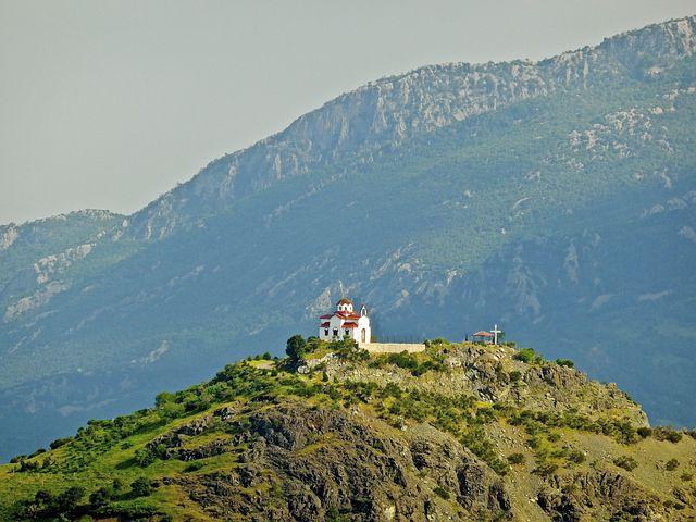 Church, Icon, Landmark, Mountains, View, Architecture