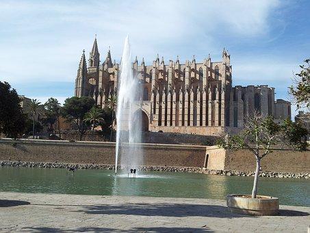 Cathedral, Palma, Mallorca, Palma De Mallorca, Building
