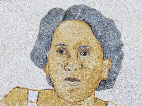 Person, Woman, Image, Drawing, Painted, Face, Portrait