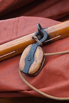 Ship, Disk Boot, Sail, Wooden Boat, Netherlands