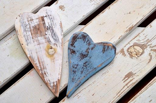 Heart, Wood, Love, Symbolic, Symbol, Affection