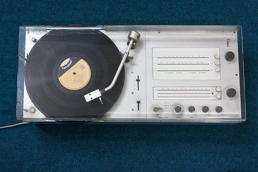 Turntable, Radio, Brown, Design, Classic, 1962