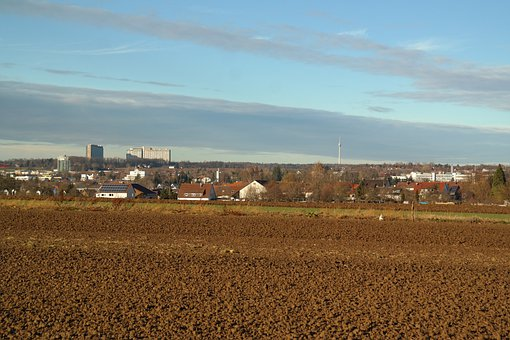 Wolfschlugen, Stuttgart, Arable, Field, Tv Tower