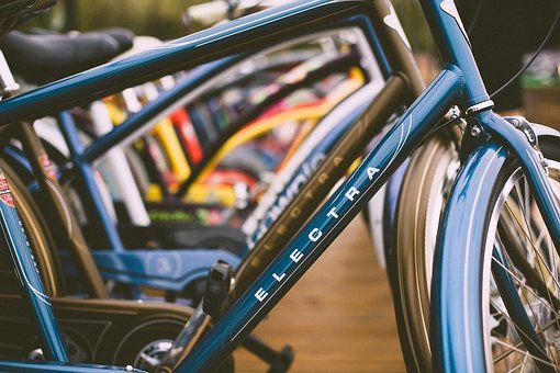 Bicycle, Bike, Blur, Car, Electra, Fast, Fun, Leisure