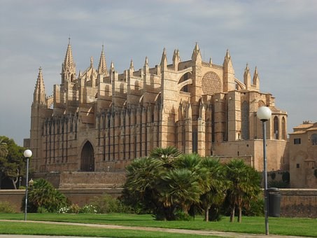 Palma, De, Mallorca, Cathedral, Architecture