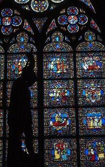 Church, Stained Glass, Martyr, Saint, Glass, Window