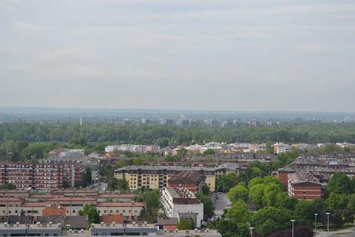 City, Zagreb, Panorama, Jarun, Landscapes, Buildings