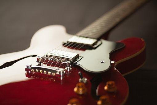Acoustic, Close-up, Electric Guitar, Guitar, Instrument