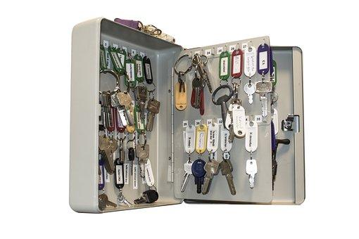 Keys, Key Cabinet, Closet