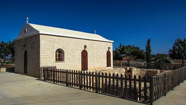 Cyprus, Frenaros, Ayii Anargiri, Basilica, Church