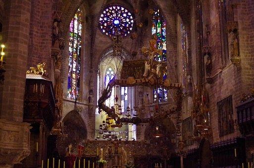 Cathedral, Palma De Mallorca, Altar, Fun