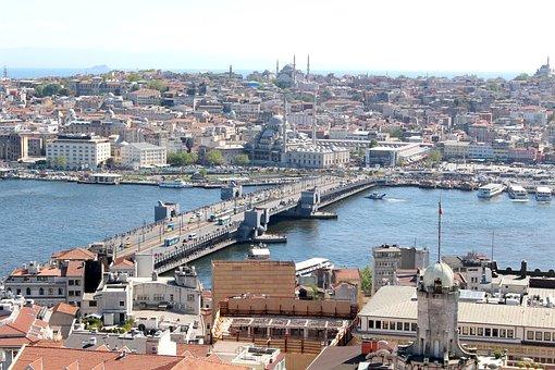 Turkey, Istanbul, Galata, Golden Horn, Outlook, Orient