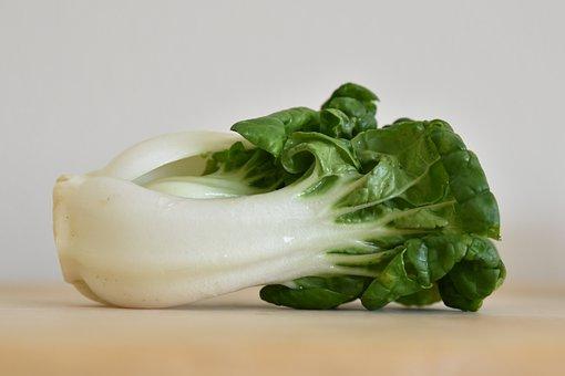 Bok Choy, Vegetable, Green, Food, Healthy, Nutrition