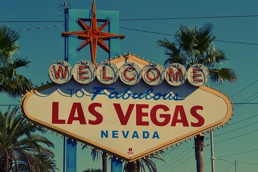 Destination, Landmark, Las Vegas, Neon Sign, Sign