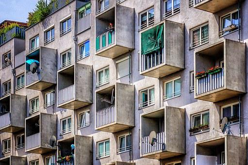 Live, Apartments, Building, House