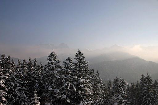 Tatry, Mountains, Winter, Poland, The High Tatras