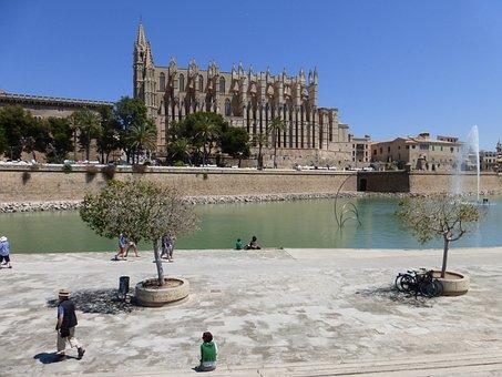 Palma, Palma De Mallorca, Cathedral, Mallorca, City