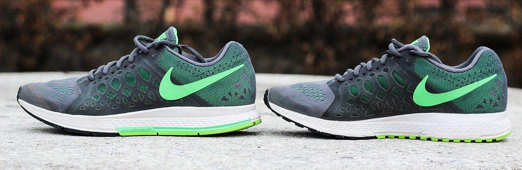 Sneakers, Shoe, Basketball, Nike, Captain Run, Run