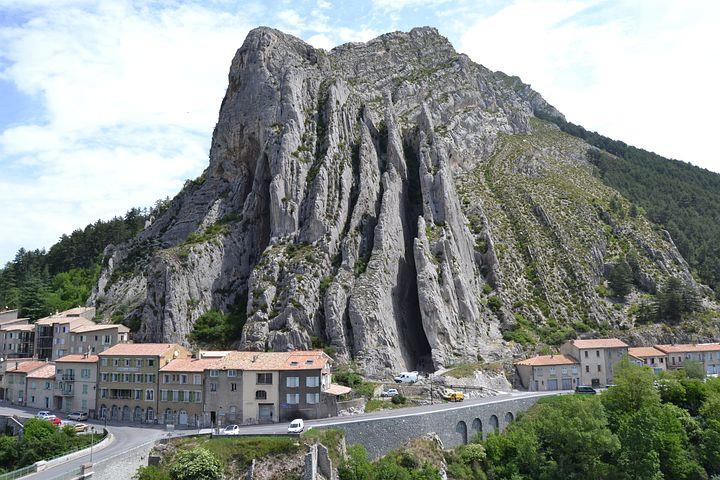 France, Provence, Sisteron, South Of France, Rock