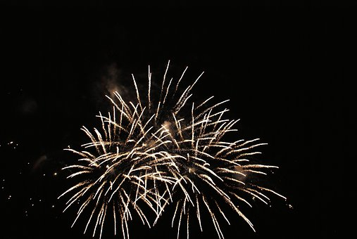 Fireworks, Celebration, The Eruption, Light, Sparks