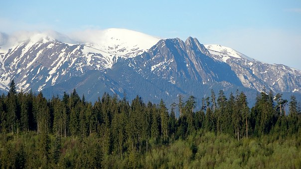 Mountains, Tatry, The High Tatras, Giewont, Nature