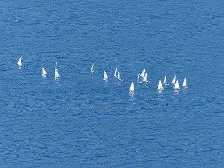 Lake, Sail, Sailing Boats, Sailing School, Water Sports