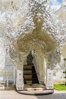 White Temple, Chiang Rai, Thailand, Asia