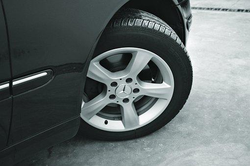 Alloy Rim, Asphalt, Automobile, Automotive, Black, Car